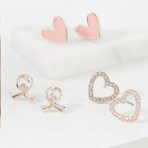 NWT 3-Pack Stud Earrings